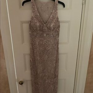 Sz4 Sue Wong beautiful embroidered evening gown
